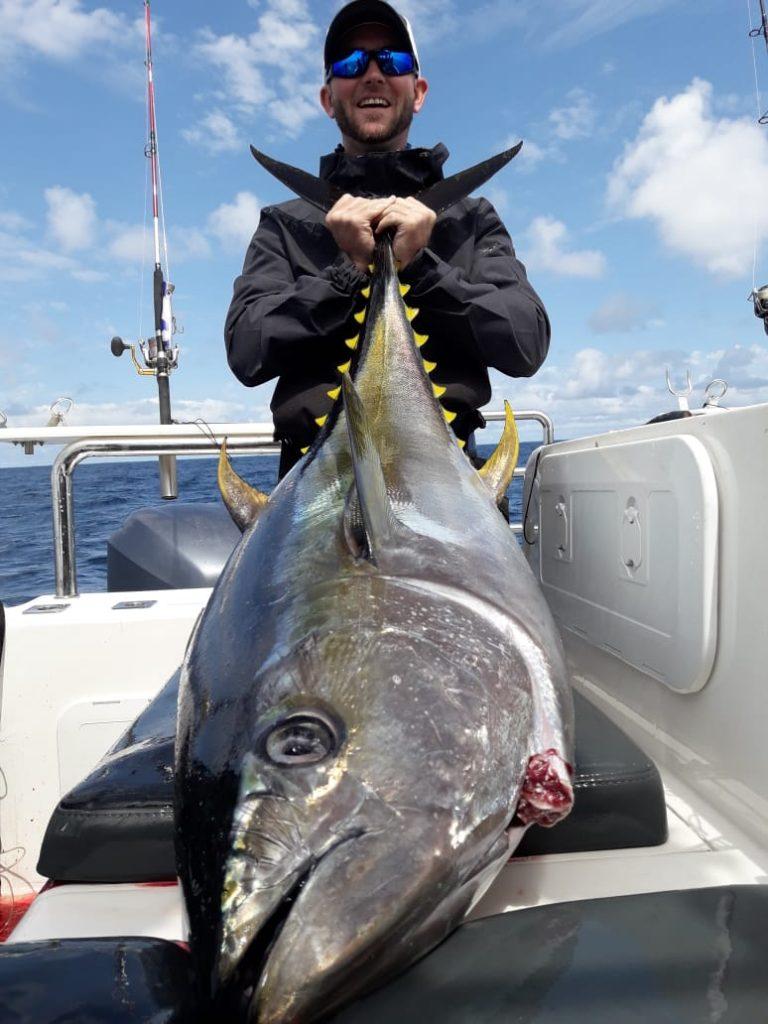 Big Yellowfin Tuna