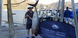 Guest catch 100kg tuna
